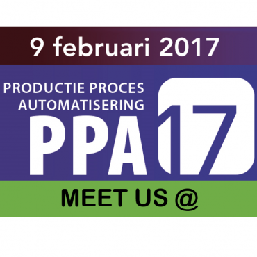 Meet us @: Productie Process Automatisering congress 2017